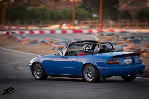 I'm a big fan of blue Miatas as well. If you love these roadsters, I love you too.