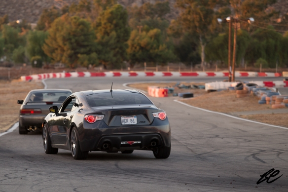 I love it when Scion FR-S and Subaru BRZ owners take their brand new rides to the track.
