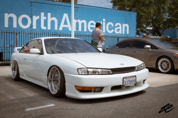 You can't beat a simple, white late-model 240sx.